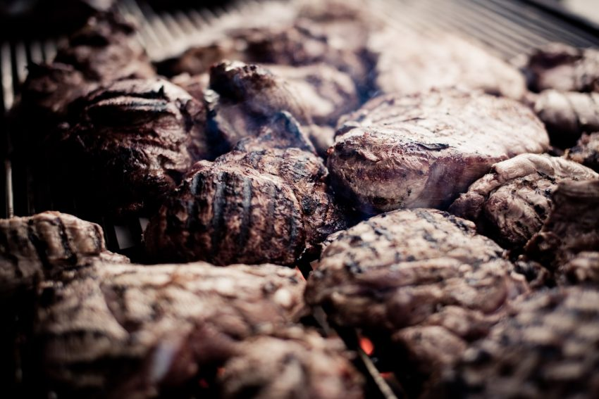 Grill Meat In Protaras